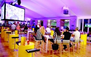 الصورة: رأس الخيمة تتنافس على كعكة كأس العالم