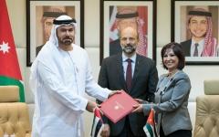 الصورة: الإمارات والأردن تتفقان على حزمة من المبادرات والمشاريع الاستراتيجية