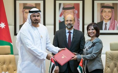 الصورة: الإمارات والأردن يتفقان على حزمة مشاريع استراتيجية تعزز التعاون والشراكة