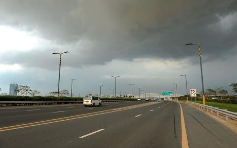 الصورة: الطقس ودرجات الحرارة في الامارات غداً