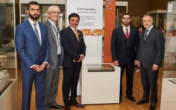 الصورة: المتحف البريطاني يطلق اسم الشيخ زايد على قاعة أوروبا والشرق الأوسط