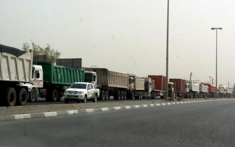 الصورة: مجلس الوزراء يعتمد إلغاء رسوم تصريح اليوم الواحد لمرور المركبات الثقيلة