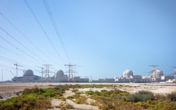 الصورة: دعم قياسي من سكان الإمارات  للبرنامج النووي السلمي