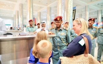 الصورة: 816 ألف مسافر عبر منافذ دبي خلال العيد