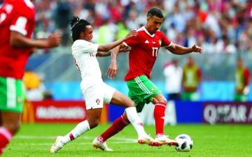 الصورة: المغرب يخسر أمام «الدون»