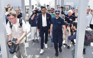 الصورة: تشان ينضم ليوفنتوس الإيطالي لمدة أربعة أعوام