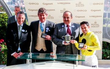 الصورة: «أوستليو» يحقّق إنجازاً جديداً لخيول الإمارات