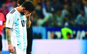 الصورة: «الناري» يحرق الأرجنتين