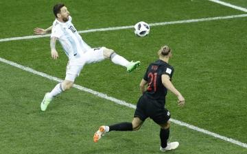 الصورة: كيف تتأهل الأرجنتين إلى  الدور الثاني في المونديال؟