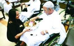 الصورة: مركز إسعاد كبار السن يحقق  السعادة لـ 174 مسناً