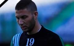 الصورة: وفاة لاعب مصري خلال مباراة كرة قدم