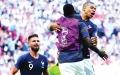 الصورة: فرنسا تتأهل على أنقاض ميسي