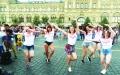 الصورة: مونديال الرقص في الساحة الحمراء