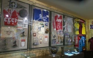 الصورة: المتحف الرياضي  الروسي يروي تاريخ المونديال