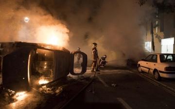 الصورة: غضب في فرنسا بعد مقتل شاب على يد الشرطة
