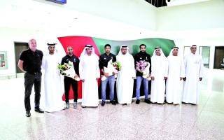 الصورة: الطاقم الإماراتي.. قصة نجاح جديدة بعد المونديال
