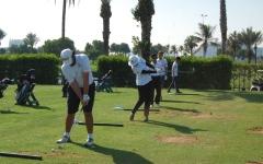 الصورة: 27 لاعباً في بعثة منتخبات الغولف إلى معسكر ألمانيا
