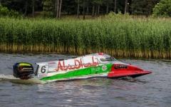 الصورة: زورق أبوظبي 6 ينافس على لقب «الإندوراس للفورمولا2»