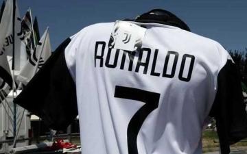 الصورة: الكشف عن موعد وصول رونالدو  إلى يوفنتوس