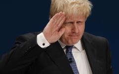 الصورة: استقالة وزير الخارجية البريطاني بوريس جونسون