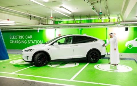الصورة: «دبي فستيفال سيتي» يدعم التحوّل نحو السيارات الكهربائية
