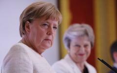 """الصورة: ميركل رداً على ترامب: ألمانيا تتخذ قراراتها بشكل """"مستقل"""""""
