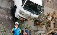 الصورة: 179 قتيلاً في اليابان جراء الأمطار