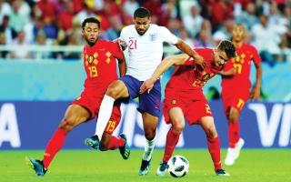 الصورة: الصورة: إنجلترا وبلجيكا.. نصف حلم