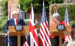 الصورة: اتفاق أميركي بريطاني على مواجهة أنشطة إيران بالمنطقة