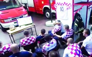 الصورة: الصورة: فيديو الإطفاء.. مجرد تمثيل