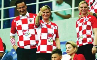 الصورة: رئيسة كرواتيا: أنتظر النهائي