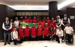 الصورة: منتخب الإمارات للأولمبياد الخاص إلى شيكاغو