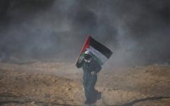 الصورة: شهيد برصاص الاحتلال في جمعة «الخان الأحمر»