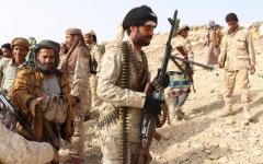 الصورة: التحالف يدك أوكار الحوثي في صعدة ويدمّر منصة للصواريخ
