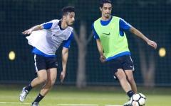 الصورة: شباب الأهلي دبي إلى معسكر إسبانيا غداً