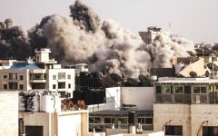 الصورة: جهود مصرية تكبح أكبر عدوان على غزة