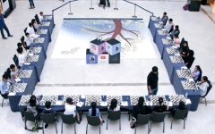 الصورة: انطلاقة مهرجان أبوظبي للشطرنج  6 أغسطس