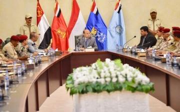 الصورة: تشكيل لجنة مشتركة للتنسيق الأمني بين البيضاء ولحج