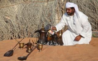 الصورة: القهوة العربية.. إرث وتاريخ وسنع