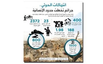 الصورة: «تقييم الحوادث»: الحوثي يحول المباني التجارية إلى ثكنات