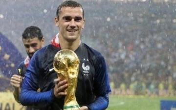 الصورة: غريزمان مرشح لجائزة أفضل لاعب في العالم