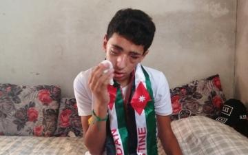 الصورة: رصاصة الاحتلال أطفأت نور الفتى صالح