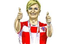 الصورة: كوليندا كيتاروفيتش.. من التربع على سدة كرواتيا للفوز بقلوب الجماهير