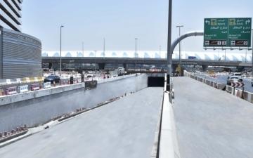 الصورة: افتتاح نفق يربط شارعي «المطار» و«مراكش» في دبي الجمعة
