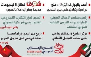 الصورة: الإمارات والصين  نقلة في الشراكة تعزز التنمية
