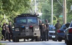 الصورة: قتيل و3 جرحى بإطلاق نار في كانساس الأميركية