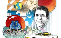 الصورة: التأثير الاقتصادي العالمي