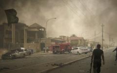الصورة: جرحى في سلسلة انفجارات تهز كركوك
