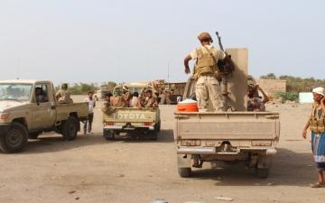 الصورة: المقاومة تصد هجمات للحوثي في الساحل الغربي وصعدة