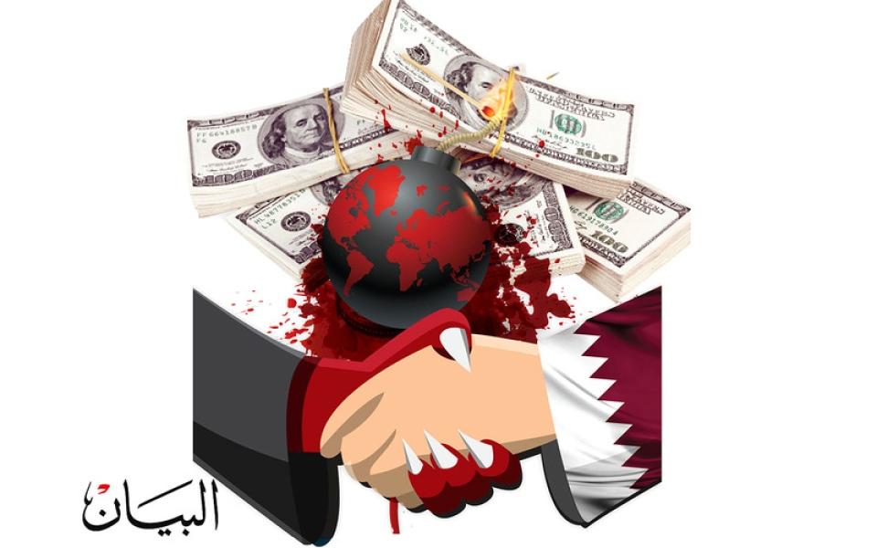 الصورة: مسؤول قطري يعترف بدفع  50 مليون دولار لحزب الله اللبناني